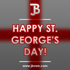 Happy St. George's Day! http://bit.ly/1IlJOO6 #StGeorgesDay #ProudToBeEnglish