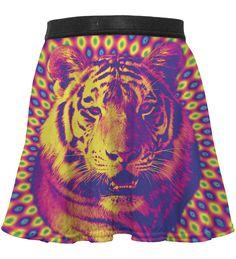 Crazy Tiger circle skirt for kids, Mr. GUGU & Miss GO