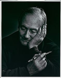 Joan Miro, photo by Yousuf Karsh, 1965