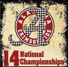Oh Yeah!  Roll Tide Roll On!
