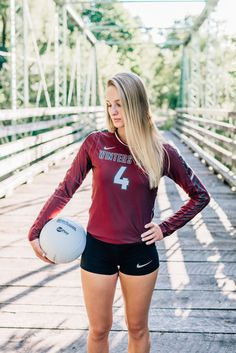 48 best volleyball senior pictures images in 2017 Cheerleading Picture Poses, Volleyball Poses, Volleyball Senior Pictures, Female Volleyball Players, Women Volleyball, Volleyball Shorts, Volleyball Senior Portraits, Senior Pics, Volleyball Live