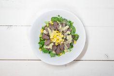 Dertig bloggers deelden hun favoriete saladerecept, zodat jij die thuis ook gemakkelijk kunt maken. Proef deze biefstuksalade van Chef met Lef.-Recept - Allerhande