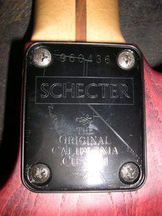 schecter california neck plate - Поиск в Google