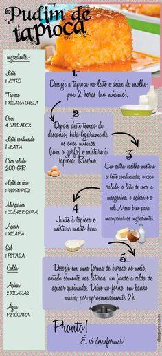 Receita de Pudim de Tapioca sem Glúten! Confira mais receitas especiais no nosso blog: https://www.emporioecco.com.br/blog/receitas/