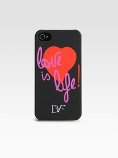 Diane von Furstenberg - Love Is Life iPhone Case - Saks.com