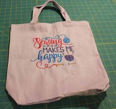 This video and photo tutorial shows how to machine embroider on a tote bag. Machine Embroidery Projects, Embroidery Supplies, Embroidery Software, Learn Embroidery, Silk Ribbon Embroidery, Embroidery For Beginners, Embroidery Techniques, Hand Embroidery, Embroidery Ideas