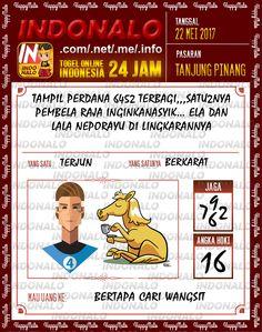Kode Pakong 2D Togel Wap Online Indonalo Tanjung Pinang 22 Mei 2017