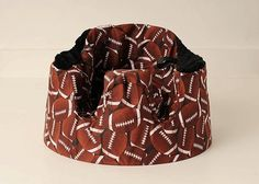 Football Fan Gumbo Seat Cover by gumbobaby on Etsy, $26.00