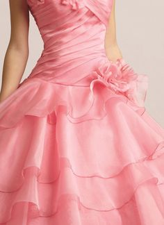 Girly Girl ~ Shades of Pink Pink Love, Pretty In Pink, Perfect Pink, Beautiful Gowns, Beautiful Outfits, Glamour, Yes To The Dress, Everything Pink, Satin