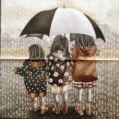 Cuadro Llueve