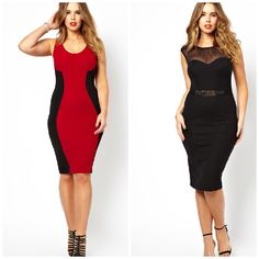 The 2 things I won't the most right now. Love these 2 dresses from ASOS ( AsosPlusSize ) GOT 2 HAVE IT