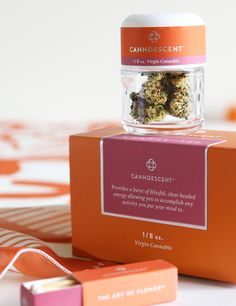"""High-end Cannabis Cultivators Canndescent ask, """"How Do You Want to Feel?"""" — The Dieline   Packaging & Branding Design & Innovation News"""