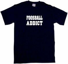 Foosball-Addict-Mens-Tee-Shirt