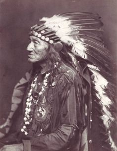 Black Eagle Chippewa Chief by Meaghan Courtney, via Flickr