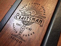 Craftsman Bar Menu by Keith Davis Young