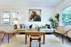 Charming Home Makeover in Los Angeles by Hunter Kenihan