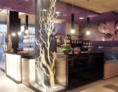 Modern cafe bar lighting design ideas