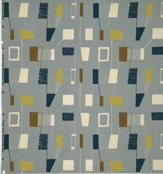 Lucienne Day - Lapis   from UPPERCASE - journal