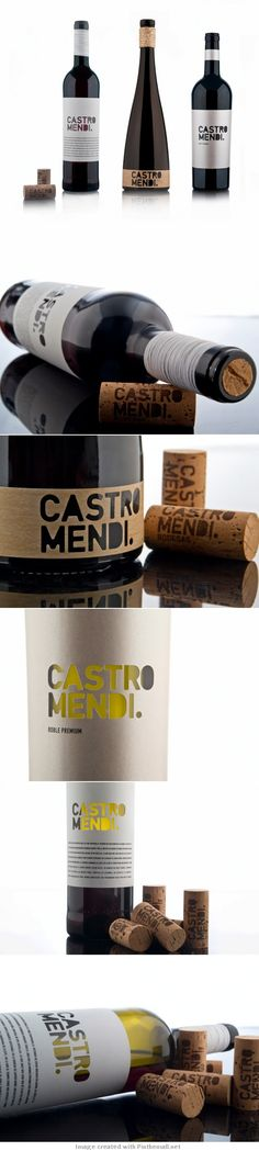 label / Bodegas Castro Mendi - wine #taninotanino #vinosmaximum