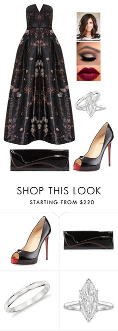 """Untitled #101"" by smolllie ❤ liked on Polyvore featuring Mode, Christian Louboutin, Blue Nile, Harry Winston und Alice + Olivia"