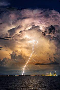 Evening Thunderstorm byWilliam Nguyen-Phuoc