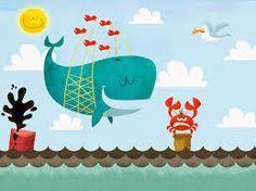 Risultati immagini per whale illustration