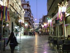 Patras Greece City Guide, known as the 'Gate to the West', linking mainland Greece to the Ionian islands, Italy and Western Europe. Patras, Time Travel, Gate, Street View, Europe, Italy, Island, Places, Restaurants