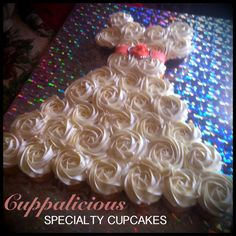 Cupcake Wedding Dress  by CuppaliciousAtlanta.com
