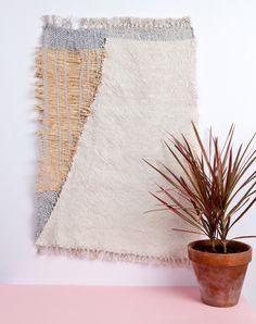 weaving, wall hanging, fiber art; kitlydagmar.
