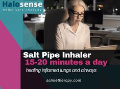 Shop - Halosense - Salt Therapy at Home Salt Inhaler, Flushed Away, Lungs, Asthma, Breathe, Detox, Therapy, Healing, Day