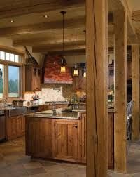Image result for rustic beam kitchen