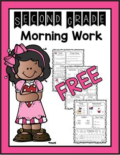 Morning work for 2nd grade--Free spiral review