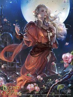 Artist: Unknown name aka zinnaDu - Title: Unknown - Card: Chesieres, Pouring Wisdom