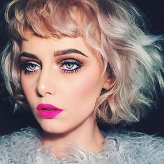 Shop Melt Cosmetics pigmented & bold makeup for lips & eyes. Mint Hair, Pastel Hair, Neon Lipstick, Eyebrows Goals, Melt Cosmetics, Shady Lady, Pretty Dolls, Makeup Inspiration, Youtubers