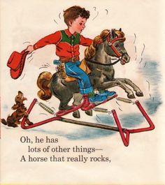 Vintage Boys, Vintage Children's Books, Vintage Cowgirl, Vintage Nursery, Baby Kind, Vintage Greeting Cards, Boy Art, Children's Book Illustration, Vintage Images
