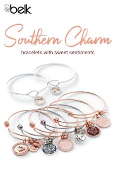 Charm bracelets make the perfect gift for mothers, daughters, friends and you! Crafted with unique, personalized charms, it's easy to find a Belk Silverworks bracelet to go with every outfit and match every mood. Shop Belk Silverworks jewelry in store and online at Belk.com.