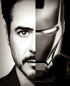 If I had as much money as Tony Stark, I'd be IRON WOMAN but in a shiny black metal suit..and Brad Pitt as my assistant.