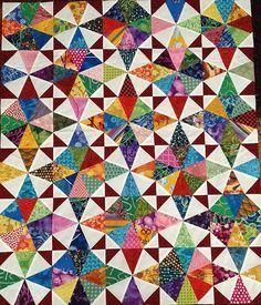 Image result for kaleidoscope quilts eleanor burns