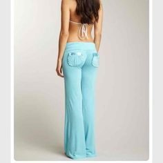 Beach Bunny Lounge Pants in WHITE