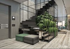 Luxurious Apartment Redefines The Term 'Urban Jungle'