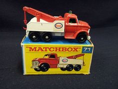 MATCHBOX LESNEY NO.71 FORD ESSO WRECK TRUCK