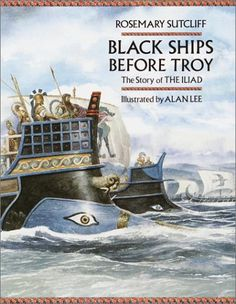 Image result for Black Ships before troy book
