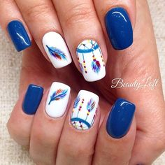 Finding the Best Nail Art is something we strive for here at Best Nail Art. Belo… Finding the Best Nail Art is something we strive for here at Best Nail Art. Below, you will find what we believe to be some of the Best Nail Art Designs for Since ther Cute Nail Art, Cute Nails, Pretty Nails, Fall Nail Art Designs, Toe Nail Designs, Hair And Nails, My Nails, Simple Fall Nails, Feather Nails