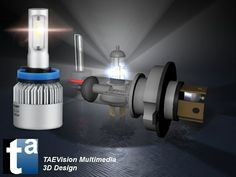 490 - #3D TAEVision #mechanical #design #Parts #AutoParts #Aftermarket #Lighting #Led #Headlight #Bulbs