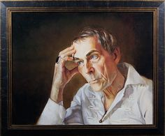 "Portrait of an actor Robert Taylor. Artist: Tatyana Holodnova 20""x16"" oil on canvas. #art #portrait"