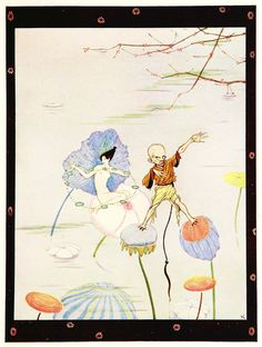 """Harry Clarke ~ The Year's at the Spring ~ Overheard on a Saltmarsh ~ 1920 ~ via  Give me your beads. I desire them. No."""""""