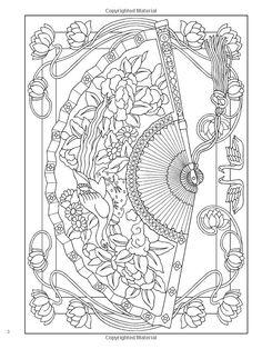 Creative Haven Vintage Hand Fans Coloring Book (Creative Haven Coloring Books): Marty Noble, Creative Haven: 9780486780627: Amazon.com: Books