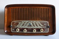 Vintage Radio #decor