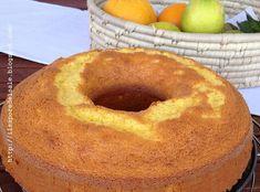 la ricetta per preparare un delizioso Ciambellone light all'arancia, un dolce buonissimo, senza latte e burro, che potete gustare senza sensi di colpa.