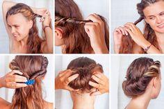 håropsætning trin for trin